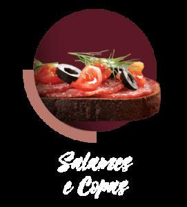 Linha de Salames e Copas Juliatto