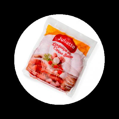 128240 Linguica de Carne Suina Congelada 700g